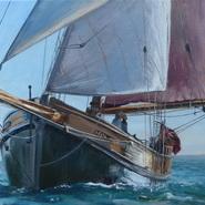 Eda Frandsen on Passage  SOLD