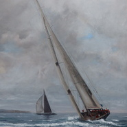 J Class Yachts racing at Falmouth  SOLD