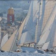 Start of Les Voiles de Saint Tropez 2011  SOLD