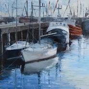 Fishing Boats, Newlyn