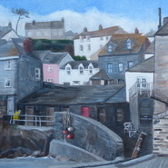 Port Isaac in Winter