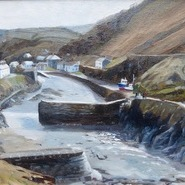 Late Autumn, Boscastle