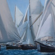 Pilot Cutters - after the Gybe