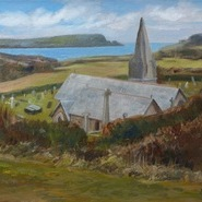 St Enodoc Church, Early Spring (2)
