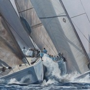 Swan Cup - Approaching the Windward Mark