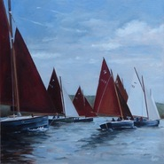 The Start, Peter Keeling Shrimper Week  SOLD